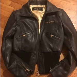 Preowned Phat Farm leather jacket